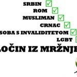 Kuća ljudskih prava: U Hrvatskoj još uvijek ne postoji dovoljno razvijena svijest o zločinu iz mržnje i njegovim posljedicama
