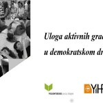 """U Osijeku tribina """"Uloga aktivnih građana u demokratskom društvu"""""""