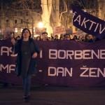 """Održan prosvjedni noćni marš """"glasnih i borbenih"""" žena u Zagrebu, Rijeci, Puli, Zadru i Splitu"""