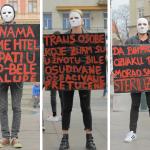 Performans Maske: Izlazimo na ulice i borimo se za svoja prava!