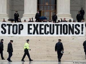 Prosvjed protiv smrtne kazne u Washingtonu