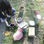 """U okviru projekta """"Školontiranje"""" volonterska akcija ispred Tehničke škole u Vinkovcima"""