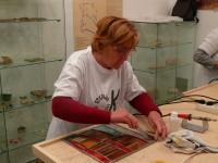 """Otvorenje izložbe vitraja polaznika radionice vitraja u okviru projekta """"Ok! Otkrijmo kreativnost"""""""
