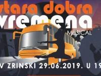 """Premijera prvog amaterskog mjuzikla """"Stara dobra vremena"""" u Domu HV-a Zrinski u Karlovcu"""