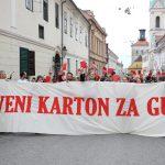 Prosvjed protiv Bandićevih izmjena GUP-a početak je kampanje udruga protiv rasprodaje zelenog pojasa i javnog prostora uz Savu