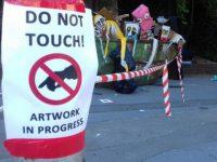 Španjolski umjetnik pokazao da i smeće može biti umjetnost. Pogledajte njegovu instalaciju u Rijeci