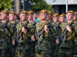 Hrvatski vojnici pri obilježavanju Oluje 2015. godine