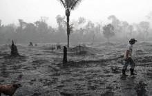 Izgoreno područje tropske šume u blizini grada Porto Velha (AFP/C. de Souza)