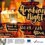 Glazbeni program Arabian Night, plesno i gastronomsko druženje u petak u klubu ATTACK