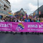 Više od 3000 ljudi u prvoj Paradi ponosa u Sarajevu