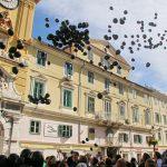 Povorkom i puštanjem balona na Korzu je obilježen Nacionalni dan borbe protiv nasilja nad ženama.