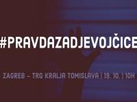 """U subotu  na Trg kralja Tomislava u Zagrebu prosvjed """"Pravda za djevojčice!"""""""