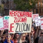 Diljem Hrvatske održani prosvjedi u znak podrške žrtvama seksualnog nasilja