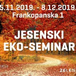 Kreće Jesenski eko-seminar Zelene akcije