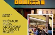 Pričanje priča u Booksi – gostovanje Adopte