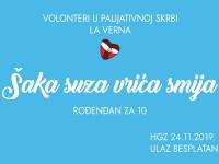 """Udruga """"La Verna"""" slavi 10. obljetnicu organiziranja volontera u palijativnoj skrbi"""