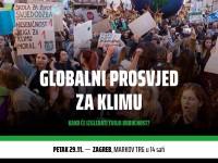 Inicijativa mladih FridaysForFuture Hrvatska poziva na prosvjed za klimu