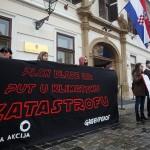 "Performans ""zelenih"" protiv Energetskog i klimatskog plana Vlade"