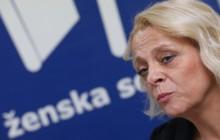 Zagreb, 11.11.2019. - Konferencija za medije Ženske sobe. Na fotografiji Maja Mamula. foto HINA/ Lana SLIVAR DOMINIĆ/