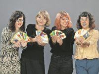 Na fotografiji: Ana Kovacic, Natasa Rasovic Bodes, Sanja Stojkovic i Tea Sokac. Foto: Ranko Suvar / CROPIX