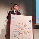 Ministar Pavić na konferenciji u Bruxellesu o uključivanju građana i civilnog društva u kohezijsku politiku najavio veliku konferenciju u Šibeniku