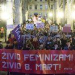 VIDEO: Održan Noćni marš u Zagrebu: Borba za ženska prava traje cijelu godinu