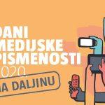 Dani medijske pismenosti 2020. – na daljinu