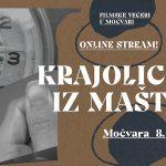 Filmske večeri u Močvari – prvo virtualno izdanje