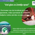 Poziv na sudjelovanje u obilježavanju Dana planete Zemlje u Knjižnici i čitaonici 'Fran Galović' Koprivnica