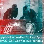 """Još sedam dana za prijavu projektnih ideja na poziv u okviru programa """"Civic Europe Idea challenge""""!"""