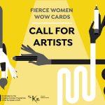 Poziv za umjetnice – Fierce Women WOW Cards