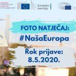 Foto natječaj 'Naša Europa'