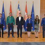Predstavnici Saveza izviđača upoznali predsjednika Milanovića s aktivnostima koje provode