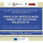 Natječaj za mlade: Najbolje ideje društvenog poduzetništva