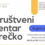 Društveni centar Prečko objavio program događanja za rujan