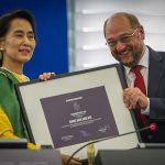 Europski parlament isključio Aung San Suu Kyi iz zajednice dobitnika nagrade Saharov
