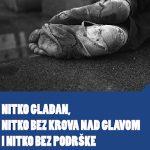 Hrvatska mreža za beskućnike u Karlovcu obilježeva Svjetski dan beskućnika