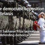 Bjeloruska oporba dobitnik Nagrade Saharov 2020.