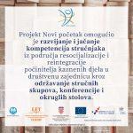Projekt Novi početak omogućuje pomoć u liječenju ovisnosti kod bivših zatvorenika