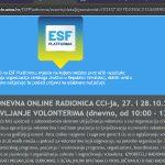 Otvorene prijave na dvodnevnu online radionicu: Upravljanje volonterima