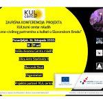 Kazališna družina Ivana Brlić Mažuranić poziva na završnu konferenciju dvogodišnjeg projekta KUL centar