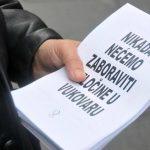 Žene u crnom održat će mirovnu akciju u središtu Beograda: Nikada nećemo zaboraviti zločine u Vukovaru!