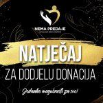 Zaklada Nema predaje objavila natječaj: 200.000 kuna potrebitim udrugama