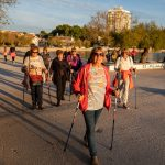 Projekt Aktivni zajedno: Posjetili smo vodičke umirovljenike na satu nordijskog hodanja