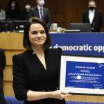Nagrada Saharov za slobodu mišljenja uručena bjeloruskoj oporbi