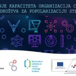 """Prva Odluka o financiranju u okviru ESF Poziva """"Jačanje kapaciteta organizacija civilnoga društva za popularizaciju STEM-a"""""""