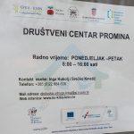 Otvorene prijave za korištenje prostora Društvenog centra Promina