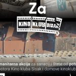 Apel za pomoć Kino klubu Sisak: Stradali su filmska oprema, računala, materijalna dobra