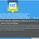 Otvorene prijave na dvodnevnu radionicu: Upravljanje volonterima