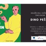Književna večer u Dnevnom: gost Dino Pešut